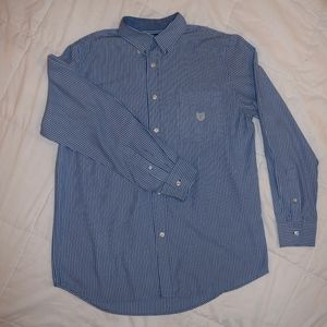 Men's Chaps, Long Sleeve, Button Down, Small